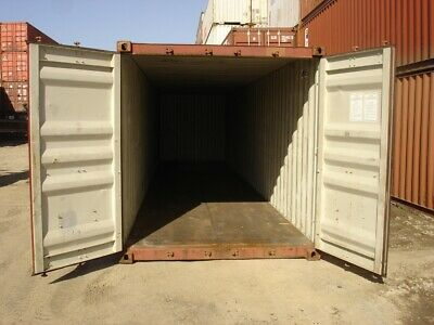 Used 20' Dry Van Steel Storage Container Shipping Cargo Conex Seabox Nashville