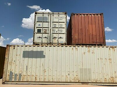 Used 40' High Cube Steel Storage Container Shipping Cargo Conex Seabox Nashville