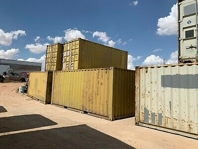 Used 40' Dry Van Steel Storage Container Shipping Cargo Conex Seabox Tampa