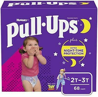 Pull Ups Night Time 2T 3T 18 34 lb 68 Ct Potty Training (18-34 lb.)
