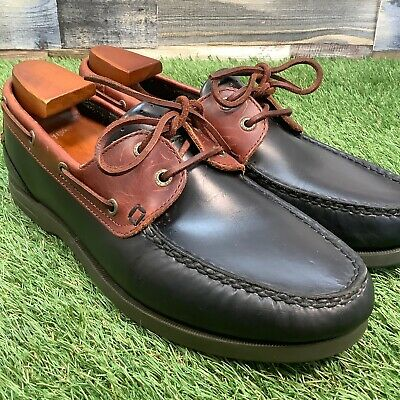 CLARKS MENS BROWN Leather Casual Shoes Size UK 8.5 G EU 42.5