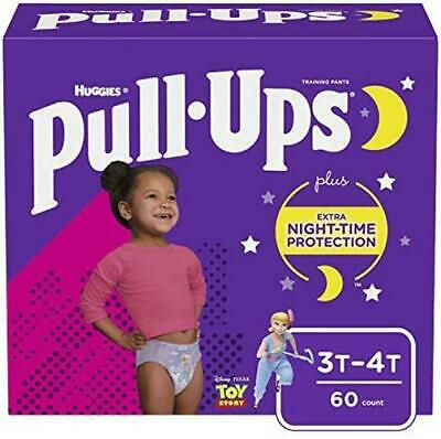 Pull Ups Night Time 3T 4T 32 40 lb 60 Ct Potty Training (32-40 lb.)