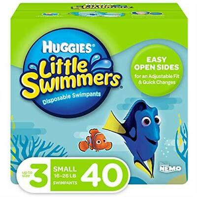 Huggies Little Swimmers Disposable Swim Diapers Swimpants Size (16-26 Pound)