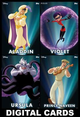 Topps Disney Collect Enchanted Transformations Series 3 [4 CARD SET] FAST!