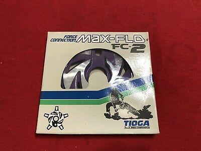 NOS White Tioga Force Connection Max Flo FC 2 Spider Power Disc OLD SCHOOL BMX