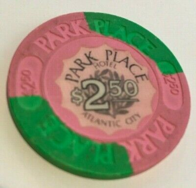 Park Place $2.50 Casino Chip - Vintage Obsolete Atlantic City