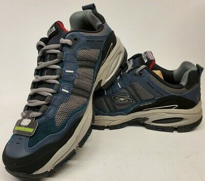 51241 EW Wide Width Navy Skechers shoe Men Memory Foam Sport Comfort Sneaker New