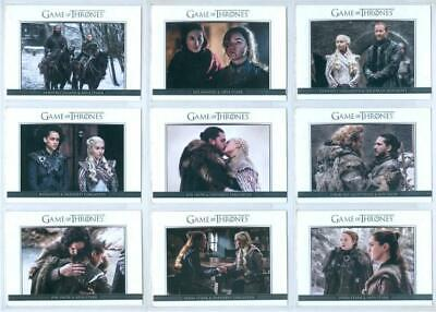 """Complete Relationships Set Dl51 - Dl68"" Game Of Thrones Season 8"