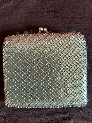 Silver Glomesh-style Mesh Wallet/Purse