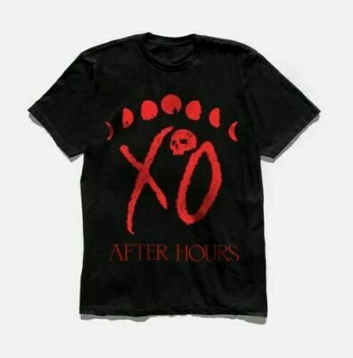 The Weeknd After Hours Xo Logo Moon Phase T-Shirt S-5Xl