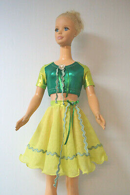 Skirt  and Top for My Size Barbie Disney princess 38/'/'