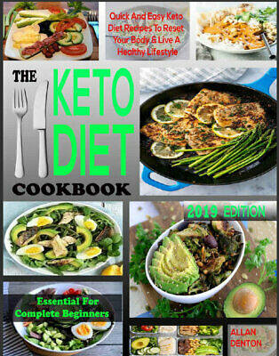 THE ESSENTIAL KETO DIET COOKBOOK FOR COMPLETE BEGINNERS  PDF/Eb00k Fast Delivery