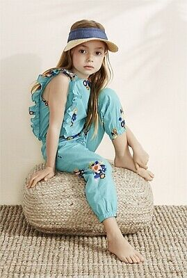 Country Road Girls Jumpsuit Romper Playsuit Shorts : 100% Cotton : Size 10
