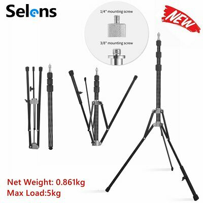 Selens Carbon Fiber Compact Light Stand Tripod for Photography *AU STOCK*