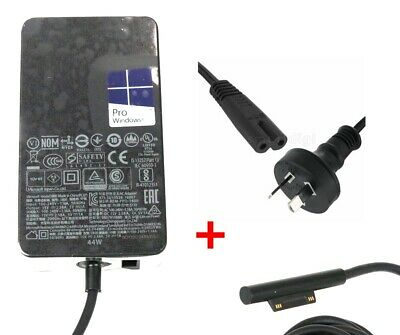 New AU AC Adapter Charger 1800 15V 2.58A 44W For Microsoft Surface Pro 5