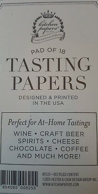 Tasting Papers Set//18 American Made