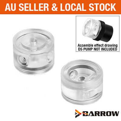 Barrow PC Water Cooling Acrylic PMMA Pump Top Head for D5 / MCP655 / SPG40A Pump