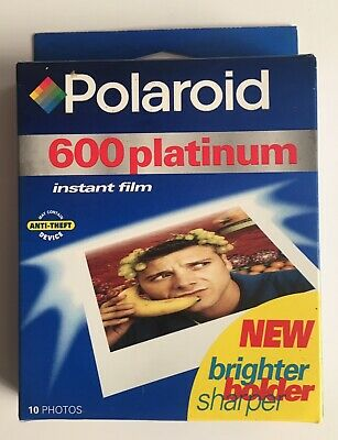 POLAROID PLATINUM 600 INSTANT FILM - 10 Photos Pack - Expired