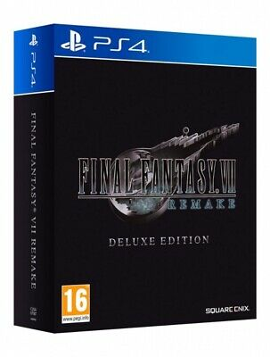 Final Fantasy VII 7 HD Remake - Deluxe Edition (PS4) (Nuovo) (Preorder)