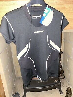 BNWT Babolat Black Tennis Top, Size S