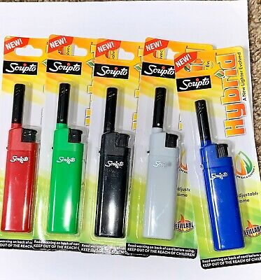 lighter New Soupto  HYBRID Adjustable Flame Refillable (1 Pack)