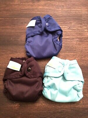Bumgenius Newborn Size Cloth Diapers, Mirror, Stellar, Fearless For yourmompeter