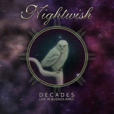 NIGHTWISH - Decades Live In Buenos Aires 2 x CD + Blu-Ray Set - SEALED NEW COPY