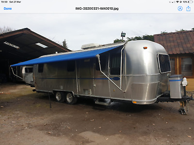Airstream travel trailer 27ft 1999