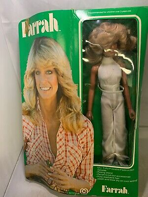 Farrah Fawcett Doll In Box 1977 Mego Corp NIB