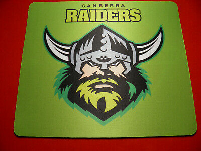 1 x Personalised Neoprene Mouse Pad  Your Design CANBERRA RAIDERS