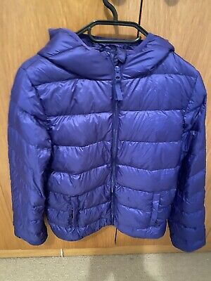 Blue Puffer Jacket sz14 - never worn from canada