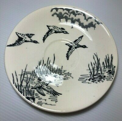 "Alfred Meakin England ""Westport"" Flying Ducks Mallards Saucer Replacement Spare"