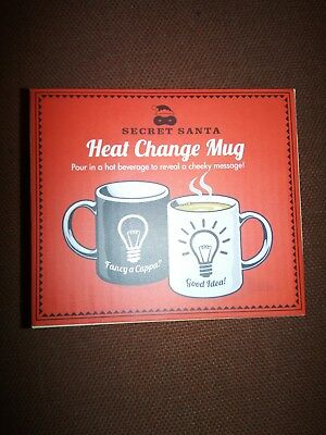 Heat Change Mug (Free P&P) (As Pictured) Ideal Gift for that Tea/Coffee Drinker
