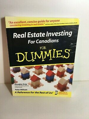 Real Estate Investing for Canadians for Dummies, Douglas Gray Peter Mitham book