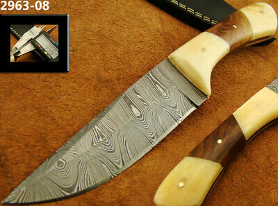 Alistar Superb Handmade Damascus Knife Hunting/Bowie Knife (2963-08