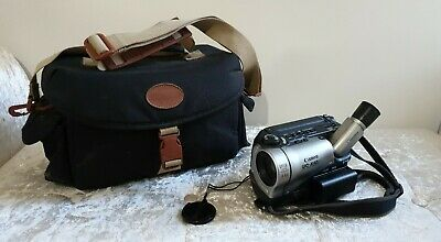 Canon UC-X40 8mm Video Cassette Camcorder 44x Digital Zoom 2 Batteries & Charger