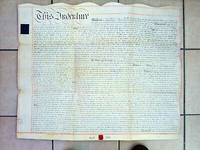 Manchester Piccadilly deed indenture 1820 seals signature local history