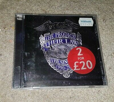 The Prodigy Their Law: The Singles 1990-2005 The Prodigy CD