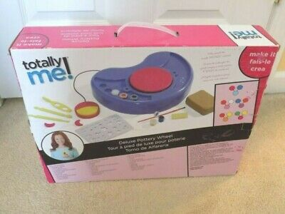 Totally Me! Deluxe Pottery Wheel Sculpt and Paint your own Pottery NEW
