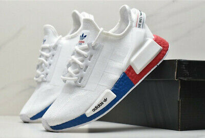 New Adidas Originals Nmd R1 V2 Mens Sneaker Casual Shoes Tricolor