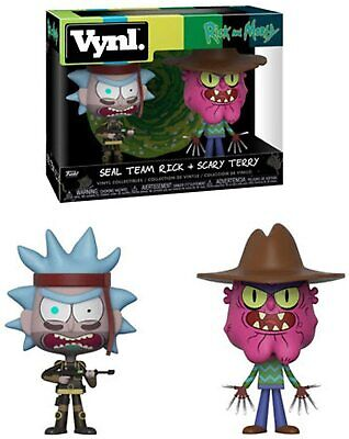 Funko Rick and Morty-Effrayant Terry Pop Vinyl Figure
