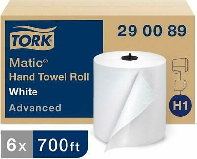 Tork Matic Advanced Paper Towel Roll H1, Paper Hand Towel 290089, 100% Recycled