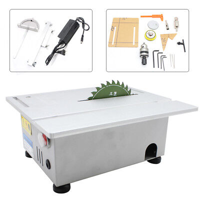 T5 Benchtop Table Saw Blade DIY Woodworking Cutting Carving Machine USA