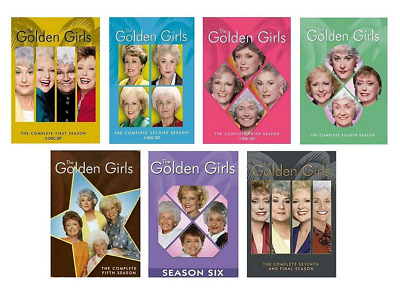 Brand New Golden Girls Complete Series Seasons 1-7 DVD