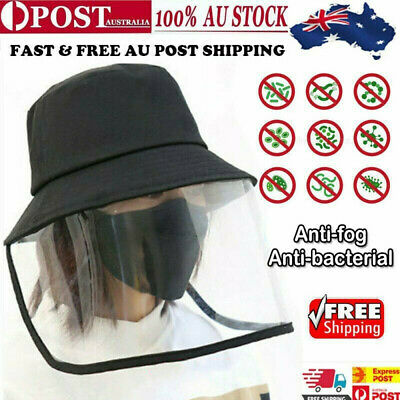 HOT! Anti Flu Protection Hat With Mask Face Cover Anti Sunlight Windproof Cap AU