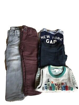 Boys Clothes Bundle Gap Jeans And Tops Age 3 Toddler