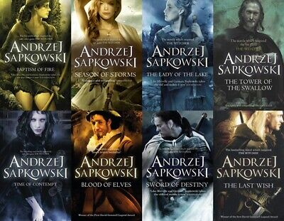 The Witcher Complete Series Andrzej Sapkowski include P.D.F, MP3 book