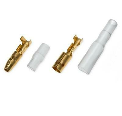 3.9mm Japanese Bullet Connectors Non Insulated Female & Male Bullet Terminals