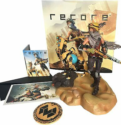 """ReCore Collector's Edition 14"""" Figurine (No Software) Exclusive metal case NEW"""