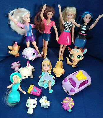 Mixed Toys. Dolls, Animals And Accessories.